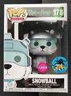 FUNKO POP RICK AND MORTY SERIES SNOWBALL FLOCKED COMIKAZE EXCLUSIVE