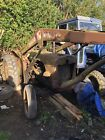David brown 850 tractor with loader Restoration winter project