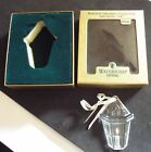 Waterford Crystal 1997 6th Ed Candle Lantern Christmas Ornament