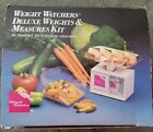 WEIGHT WATCHERS DELUXE WEIGHTS  MEASURES SCALE Used