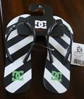NEW DC SHOES SPRAY GRAFFIK FLIP FLOP SANDALS WOMENS SIZE 5