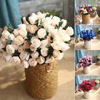 Artificial Tulip Silk Fake Flowers Bridal Bouquet For Wedding Party Home Decor