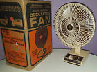 LAKEWOOD 1200A ELECTRIC FAN OSCILLATING VINTAGE 1983 COMPLETE IN BOX