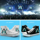 Promotions Anime Alan Walker Faded DJ Unisex high canvas shoes leisure sneakers