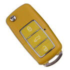 3 Buttons Remote Key Case Shell Fit Vw Volkswagen Bora Beetle Golf Polo Passat