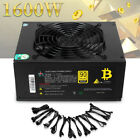 1600W 90 Fully Modular Mining Power Supply For Bitcoin Antminer A7 S7 S9 L3+