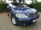 2009 SSANGYONG RODIUS 7 SEAT AWD DIESEL AUTO ALL WHEEL DRIVE 7 SEATER AUTOMATIC