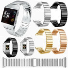 For Fitbit Ionic Cool Replacement Stainless Steel Metal Strap Band Wrist + Tool