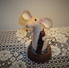 primitive folk art handmade mouse ornie doll handcrafted mice rusty lid candle