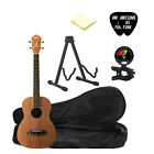 Oscar Schmidt OU52E Baritone Ukulele with Stand Bag Tuner Picks