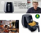 Airfryer Philips Low Fat Fry Healthy with 75% Less Fat Black Fast Patented
