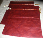 2 EXTRA LARGE RED CHRISTMAS GIFT BAG NEW 30X 27