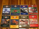WINGS OF TEXACO COLLECTABLE LOT OF 8 DIE CAST PLANE BANKS BY THE ERTL COMPANY