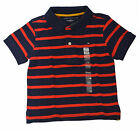 Tommy Hilfiger Polo Toddler Boys Striped T Shirt Short Sleeve 3T