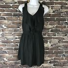 American Eagle Dark Gray Dress Size Small NWT BOHO Beach Fun K