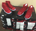 "Nike Air Jordan Retro 11 XI ""Win Like 96 Gym Red 378037-623 AUTHENTIC Size 2Y~15"