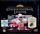 2011 Upper Deck College Football Legends Factory Sealed HOBBY Box