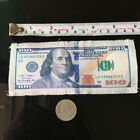 One Hundred Dollars Applique $100 Bills Cash Money Currency Sewing Patch DIY