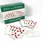 NIB Fitz & Floyd Game Night Hearts & Diamonds Game Snack Plates Set - Set of 2