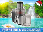 Vegetable Juicer Machine Fresh Fruit All Electric Green Stainless Steel Veggie 5
