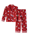 NEW SO HOLIDAY MUST HAVE CHRISTMAS PAJAMA 2 PC SET PENGUINS RED SLEEPWEAR