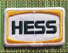 Vintage Hess Oil Petroleum Gas Station Uniform Patch Embroidered Yellow Green