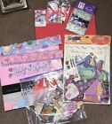 New Scrapbook lot Die cuts Confetti deluxe kit card stock foamies Stickers