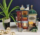 Caddington Village by Lemax - Locksmith/Porcelain Goods RETIRED Lighted Building