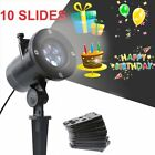 Christmas LED Laser Projector Lights Holiday Xmas Party Lamp Decor 10 Patterns