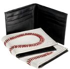 Baseball Wallet Made from Real Baseball Leather with 108 Baseball Red Stitches