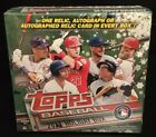 2017 Topps Baseball Holiday Factory Sealed Box 10 Packs 1 Relic or Autograph NEW