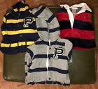 Baby Boy Polo Ralph Lauren coverall One Piece Lot Of 3 3 Months