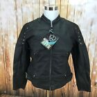 Leather Jacket Womens XS to XL 6 Arlen Ness Shelby Black New with Tags