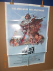 1980 Star Wars Empire Strikes Back original authentic 1 one sheet movie poster
