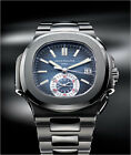 Patek Philippe Nautilus 5980/1A-001 Stainless Steel Blue Dial 40.5mm Complete BP