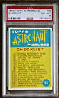 1963 Topps Astronauts Trading Cards 6