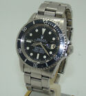 VINTAGE ROLEX MENS STAINLESS STEEL 1680 SUBMARINER AUTOMATIC DIVE WATCH 1979