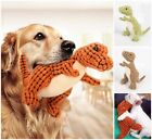 Pet Toys Puppy Dinosaur Design Dog Chew Squeaky Chewing Sound Plush Solid 32cm