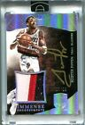 Scottie Pippen #05 10 2014-15 Panini Eminence 3 Color PATCH AUTO SSP Autograph