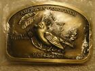 2001 MCFEE American Goldfinch Madison County Iowa Buckle