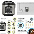 Aroma Housewares ARC-914SBD 8-Cup (Cooked) Digital Cool-Touch Rice Cooker and Fo