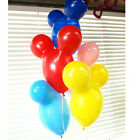 50Pcs Colorful Mickey Mouse Balloon Wedding Party Decoration Latex Balloons LEO
