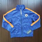 Boys Converse All Star track jacket zip up size 6 new