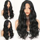 Long Black Lace Front Wig Body Wave Synthetic Wigs Heat Resistant Natural Hair