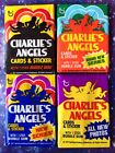 4 1977-78 CHARLIES ANGELS  Wax Packs Vintage Farrah Fawcett box fresh set lot