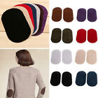 2X Suede Leather Iron on Oval Elbow Knee Patches DIY RepairSewing Applique