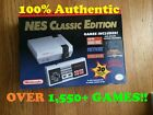 100 Authentic Modded Nintendo NES Classic Edition Mini OVER 1550+ GAMES