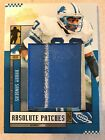 2005 Playoff Absolute Barry Sanders Memorabilia Game Used Patch 17 25