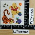 Sandylion FUZZY POOH AND TIGGER Stickers POOH  TIGGER 1 SQUARE NEW