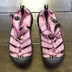 Keen Youth Girls Black Pink Straps Hiking Shoes Sandals Size 1